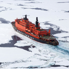 Quark Expeditions - 50 Years of Victory - Russian nuclear icebreaker