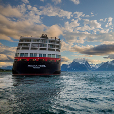 Hurtigruten - MS Midnatsol (soon to be renamed MS Maud)