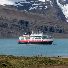 Hurtigruten - MS Fram in South Georgia