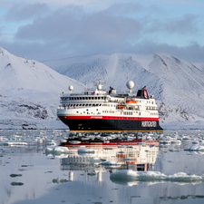 Hurtigruten - MS Spitbergen in Svalbard