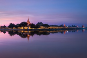 Mandalay skyline