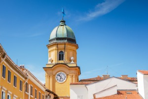 Rijeka clock tower, Croatia