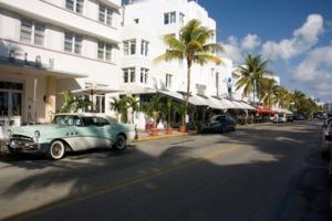 Art Deco District, South Beach, Miami