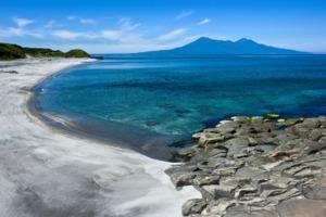 Beach in the Kuril Islands