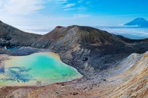 Ebeko volcano, Kuril Islands