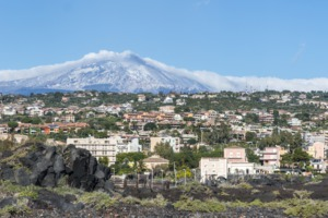 Catania and Mount Etna, Sicily