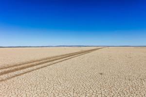 Dry mudflats near Wyndham, Australia