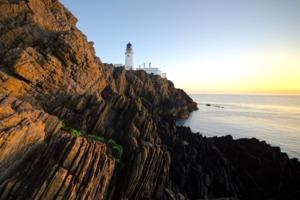 Lighthouse near Douglas, Isle of Man