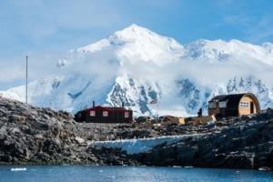Port Lockroy research station, Antarctica