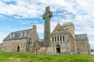 St Martin's Cross at Iona Abbey, Scotland