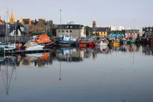 Stornoway harbour, Scotland