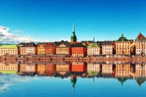 Gamla Stan in summer, Stockholm, Sweden