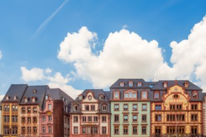Altstadt in Mainz, Germany