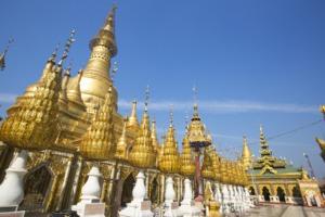 Shwesandaw pagoda in Pyay, Myanmar