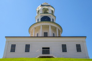 Old town clock in Halifax, Nova Scotia