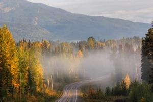 Scenery near Prince Rupert, Canada