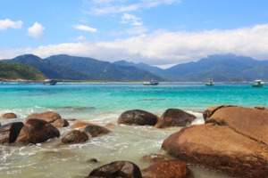 Aventueiro beach on Ilha Grande, Brazil
