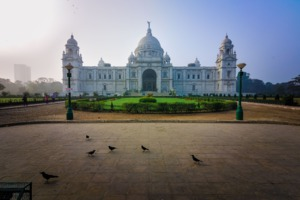 Victoria Memorial in Kolkata, India