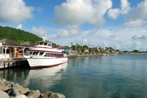 Marigot harbour, Saint Martin