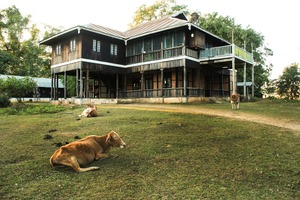 Forestry Office in Mawlaik, Myanmar