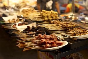 Street food in Kuala Lumpur, Malaysia