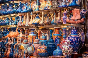Ceramics at the Grand Bazaar, Istanbul