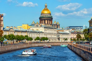 St Isaac's Cathedral, St Petersburg, Russia