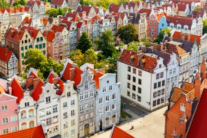 Historic centre of Gdansk, Poland