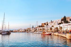 Naxos old town, Greece