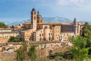 Castle in Urbino, Italy