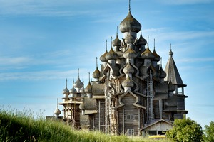 Church of Transfiguration on Kizhi Island, Russia