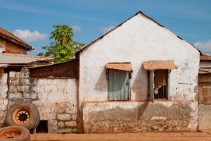 House in Banjul, Gambia