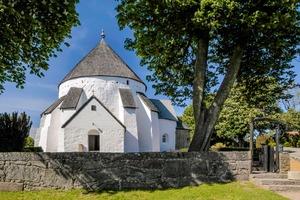 Osterlars Kirke in Bornholm, Denmark