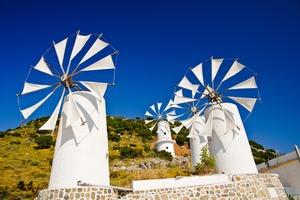 Lasithi mills, Crete