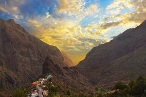 Masca Canyon, Tenerfie
