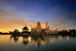 Mosque in Bandar Seri Begawan, Brunei