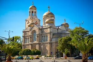 Cathedral of the Assumption in Varna, Bulgaria