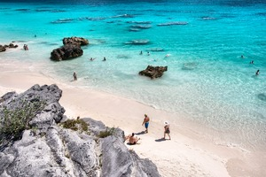 Beach at Horseshoe Bay, Bermuda