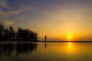 Sunset in Bintulu, Sarawak