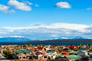 Puerto Natales and the Strait of Magellan, Chile