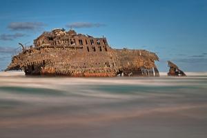 Shipwreck on Boa Vista, Cape Verde