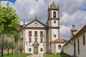 Alpendurada Monastery near Entre-os-Rios, Portugal
