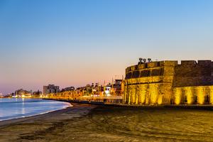 Larnaca castle, Cyprus