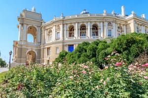 Opera house in Odessa, Ukraine