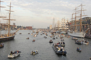 SAIL Amsterdam tall ship festival
