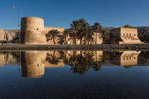 Khasab castle, Oman