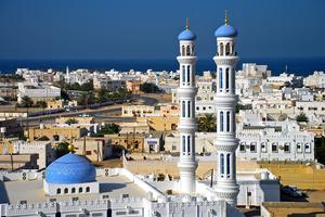 Mosque in Sur, Oman