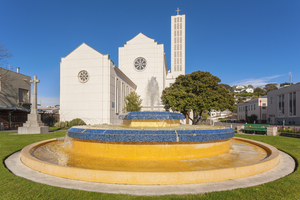 Waiapu Cathedral in Napier, New Zealand