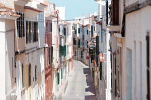 Streets of Mahon, Menorca
