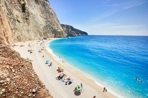 Katsiki beach, Lefkada, Greece